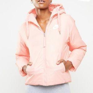 NIKE Reversible Puffer Jacket Pink Woman's XS